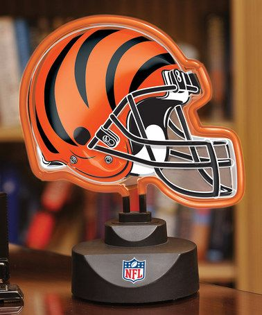 8d1baba1 Take a look at this Cincinnati Bengals Neon Helmet Lamp by The ...