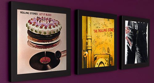 2b9baf6ba10c Frame an album that your gift recipient loves. Art + Thoughtful   Awesome  gift (especially for a music lover)