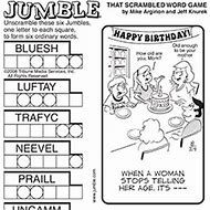 Image result for Jumble Puzzles to Print (With images
