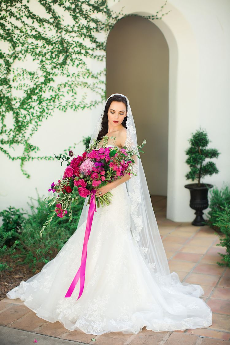 Blue Spanish Wedding Dress