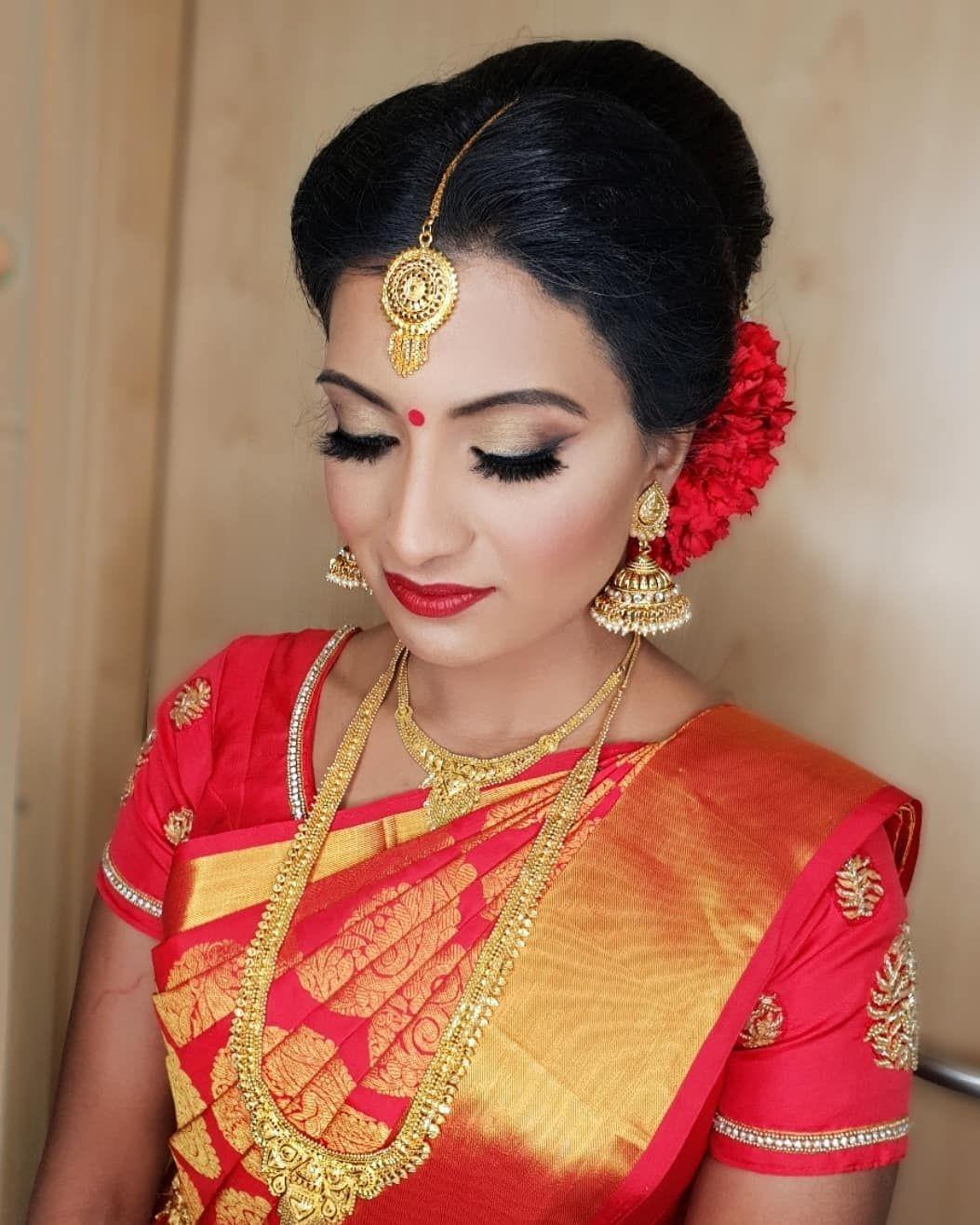 Wedding Hairstyle Tamilnadu