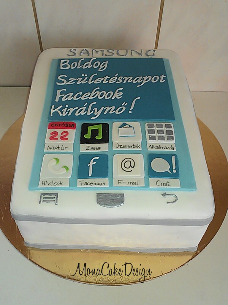 Samsung Phone Cake With Images Themed Cakes Different Cakes
