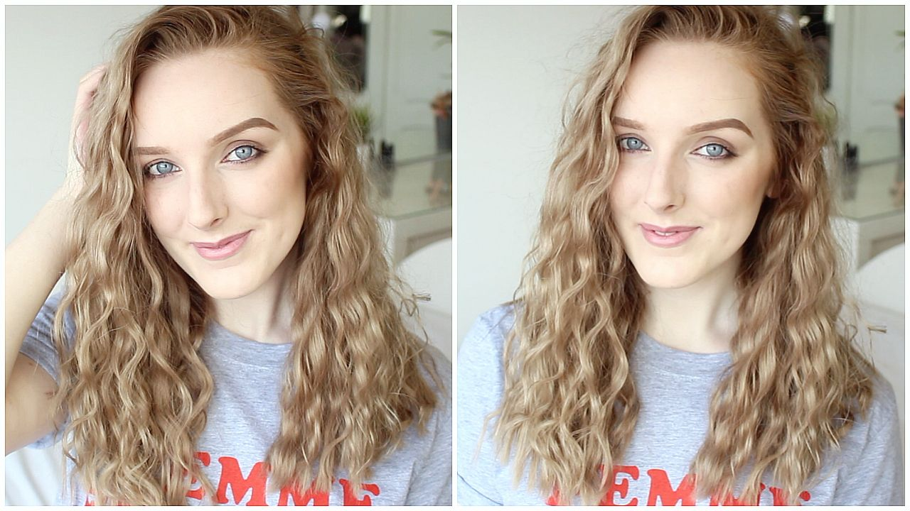 Beachy waves hair tutorial overnight hey itus emily how to get