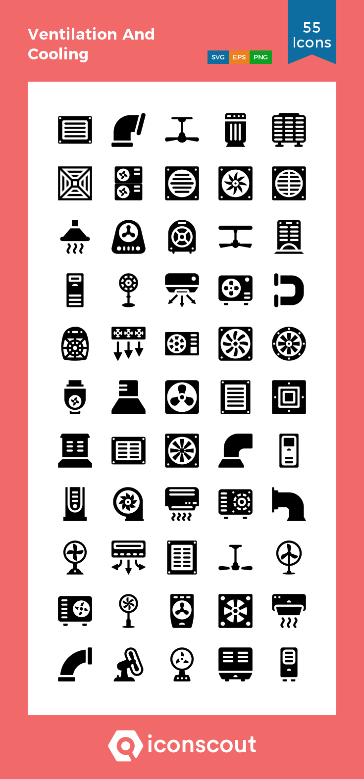 Download Ventilation And Cooling Icon Pack Available In Svg Png Eps Ai Icon Fonts Icon Pack Icon Icon Font
