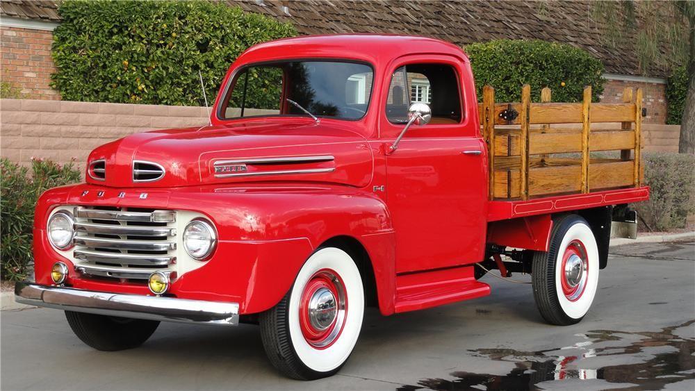 1950 ford truck barrett jackson lot 67 1 1950 ford. Black Bedroom Furniture Sets. Home Design Ideas