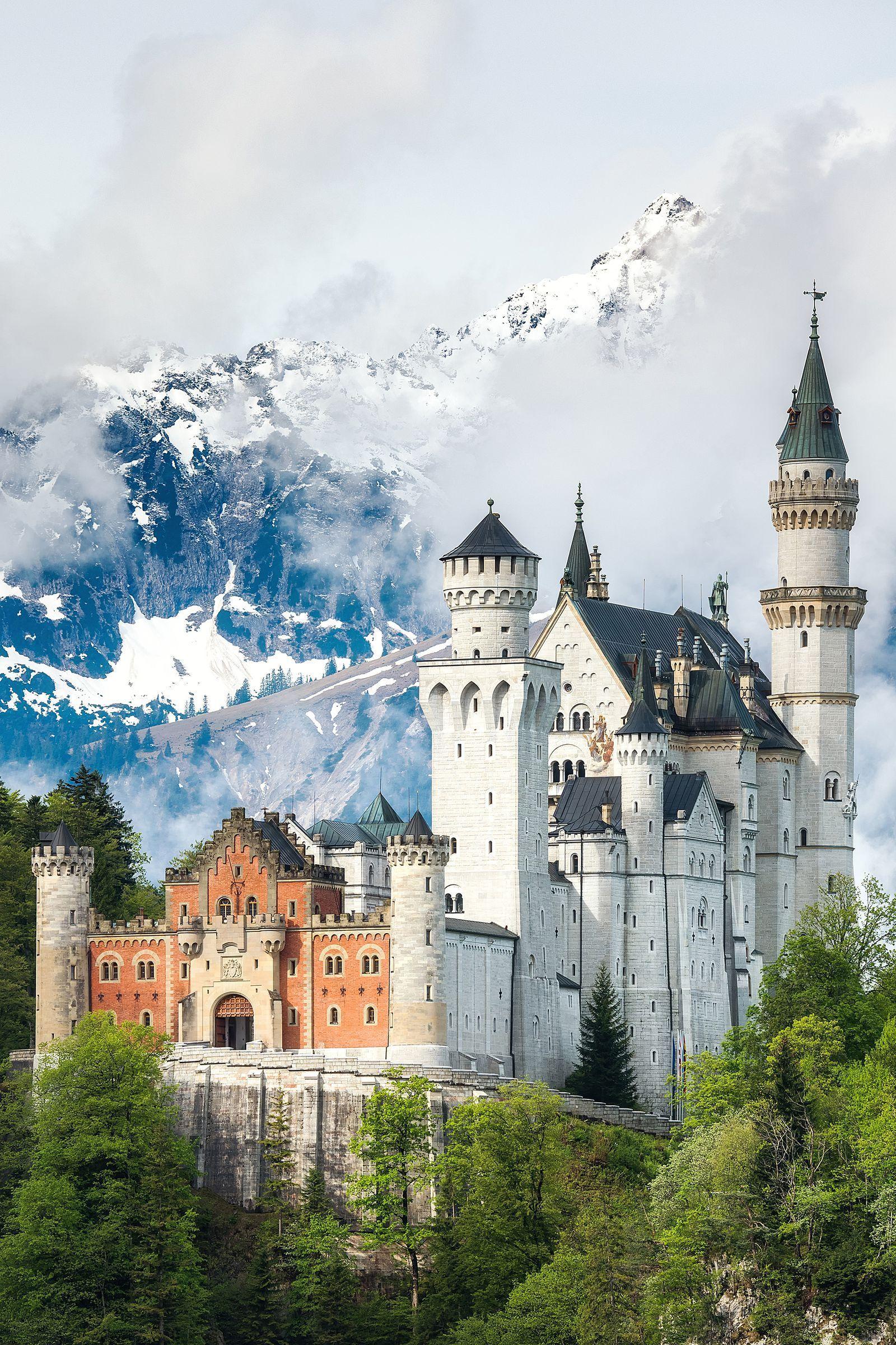 Neuschwanstein Castle Germany Most Beautiful Places Neuschwanstein Castle Beautiful Places