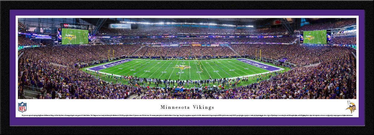Minnesota Vikings Panoramic Pictures U S Bank Stadium