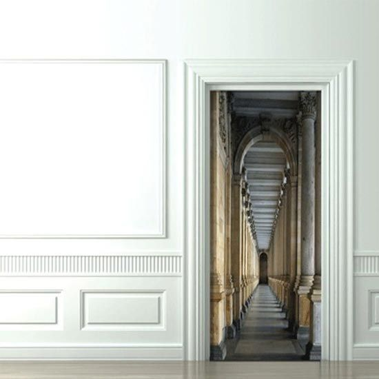 Creative Door Stickers | For The Home | Pinterest