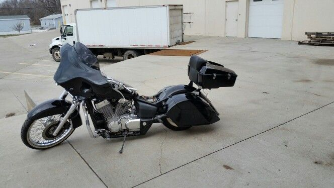 HEAVY-DUTY BIKE MOTORCYCLE COVER Honda Shadow Aero