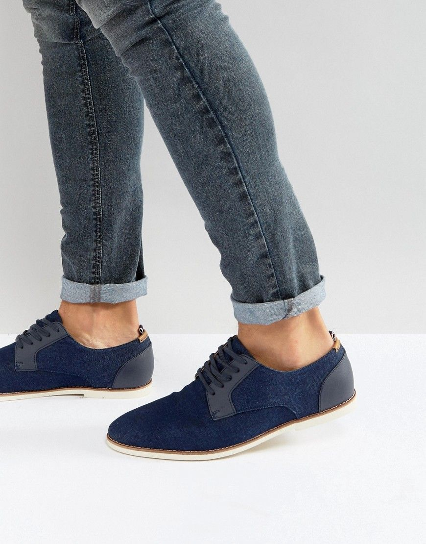 0a968a93ce3 Call It Spring Gaenburh Lace Up Shoes In Navy - Navy