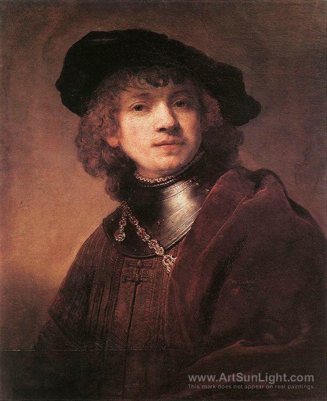 Self-portrait - Rembrandt van Rijn