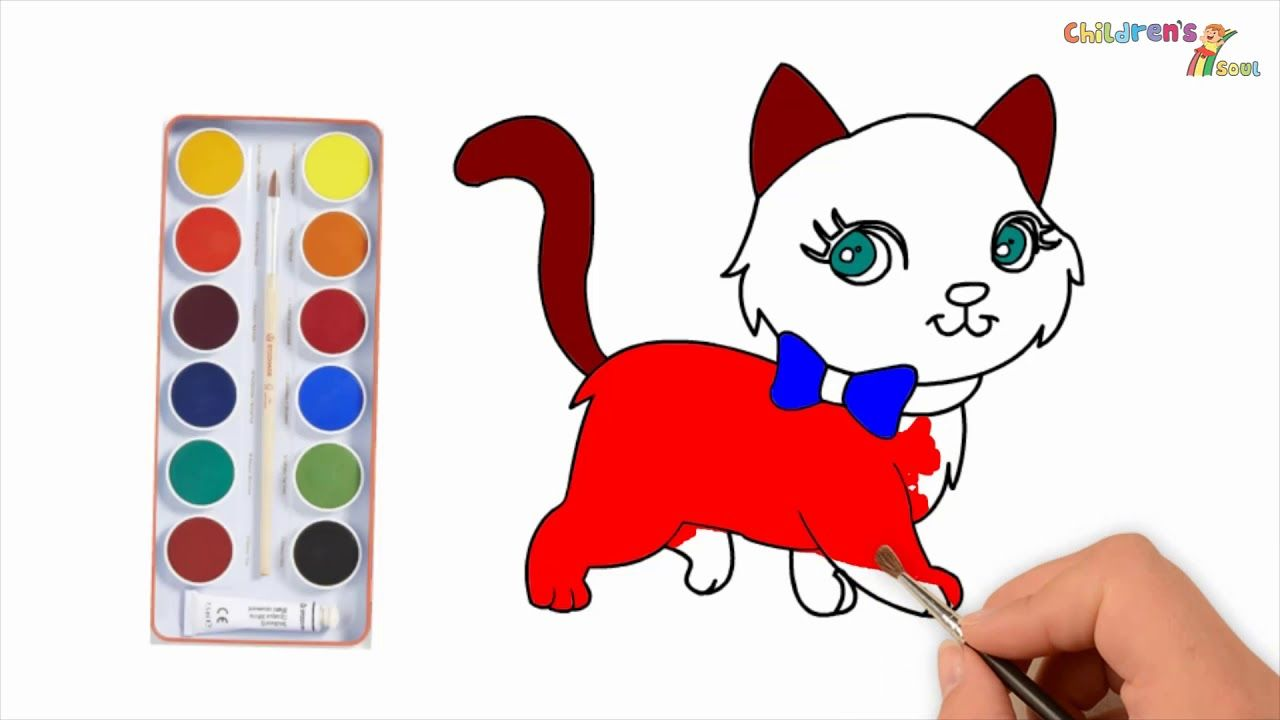 Coloring Cat Pages Cat Drawing Cat Videos Coloring Pages Hello Kitty Kids Color Col Kitty Coloring Hello Kitty Coloring Hello Kitty Colouring Pages