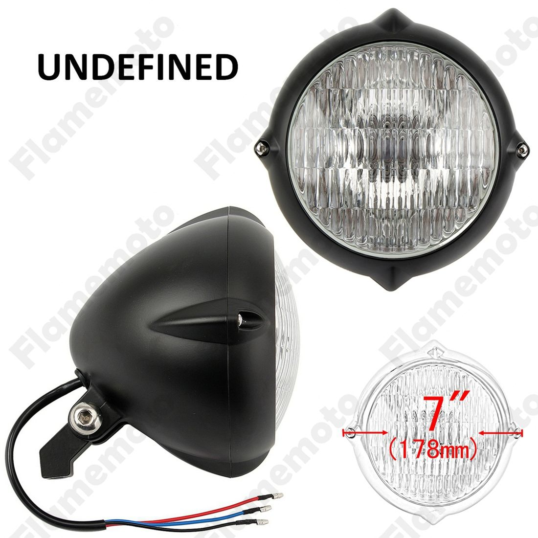 Check discount top 7 12v motorcycle parts black vintage bullet check discount top 7 12v motorcycle parts black vintage bullet headlight lamp for cafe racer old aloadofball Image collections