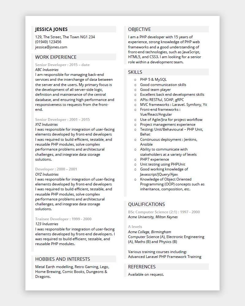 programmer cv free microsoft word template vet nurse resume format for electrical engineer sample accounts payable specialist