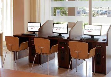 Ponemos a tu disposición equipos de ordenadores para que navegues durante tu estancia con nosotros. http://www.ilunionislantilla.com/