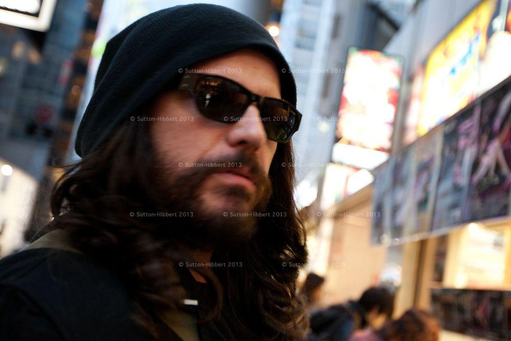 hot, hot, hot Ian Astbury, lead singer The Cult. Tokyo