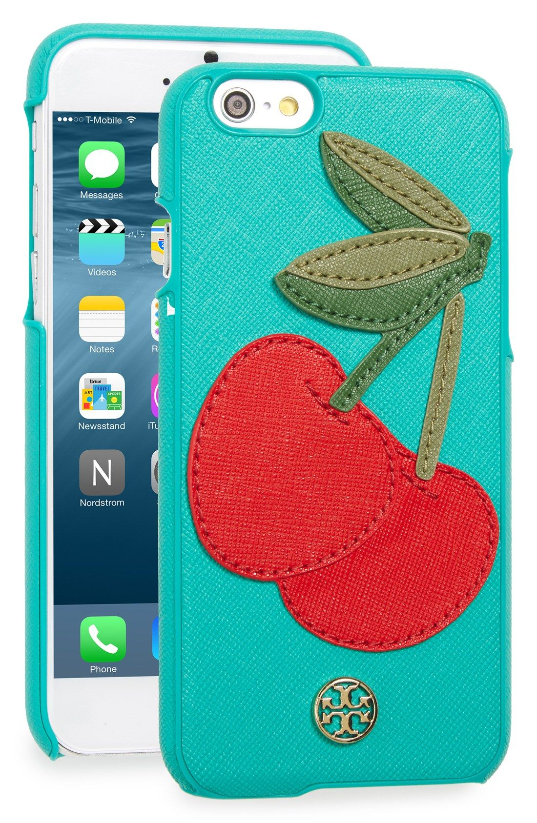 new product 3a191 5cb2a Tory Burch 'Cherry' iPhone 6 & 6s Case | A Spring in My Step | Tory ...