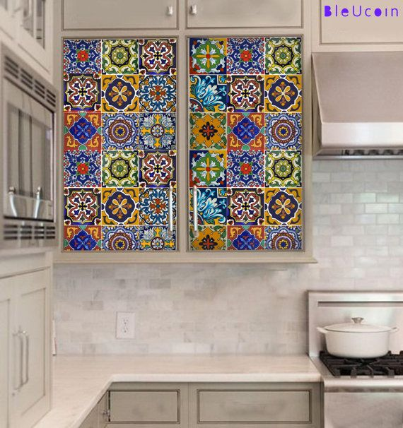 Kitchen/Bathroom Backsplash Tile/ Wall/ Stair/Floor decal, Removable
