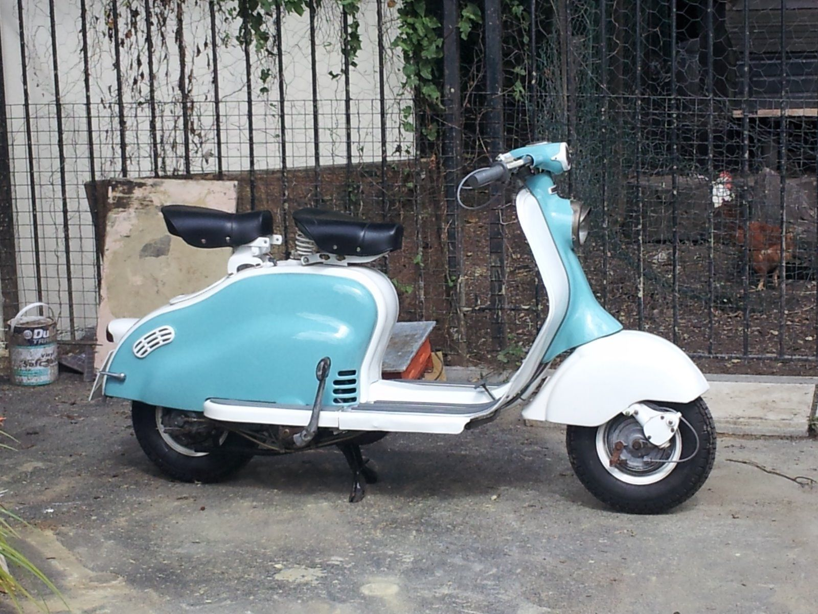Lambretta ld 150 1957