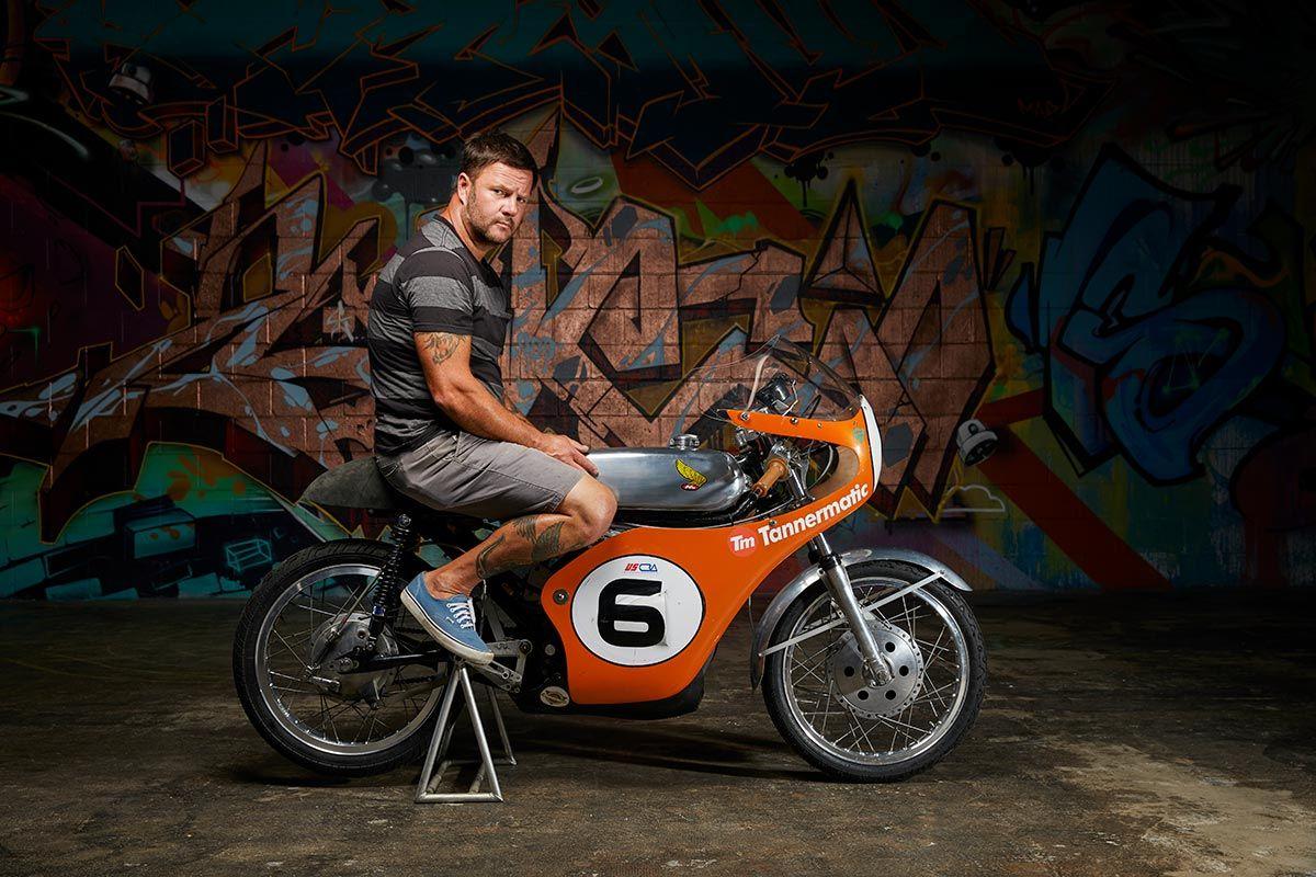 Tannermatic Racer Ahrma Honda Cb175 Return Of The Cafe Racers Cafe Racer Cafe Racer Build Cool Motorcycles