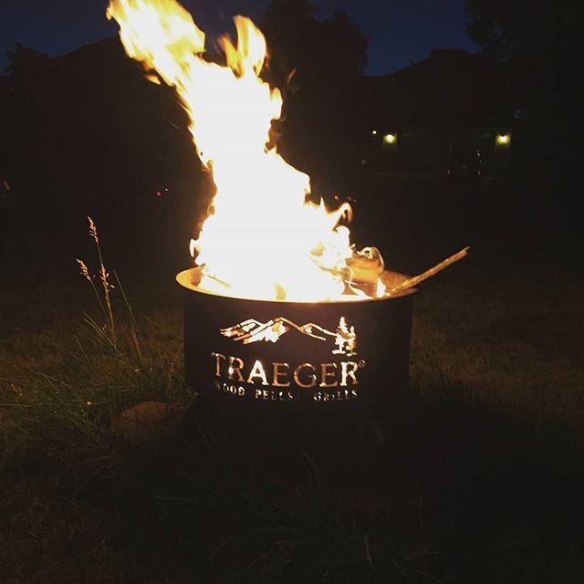 I love my Traeger fire pit. Everybody needs one. #traegernation #traeger  Reposted Via @timothy_traeger - I Love My Traeger Fire Pit. Everybody Needs One. #traegernation