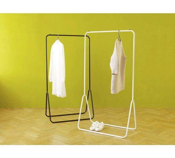 Buy Habitat Arnie White Metal Clothes Rail At Argos.co.uk   Your Online