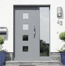 14 Puertas principales modernas blancas
