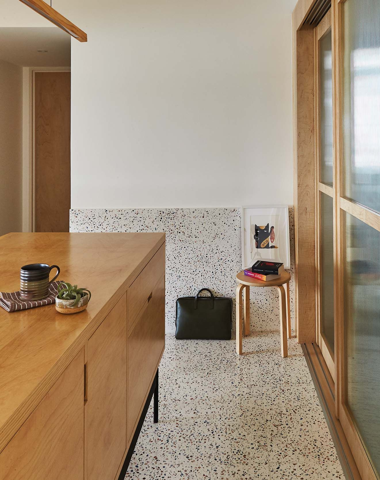 House Tour A fiveroom BTO flat with terrazzo flooring