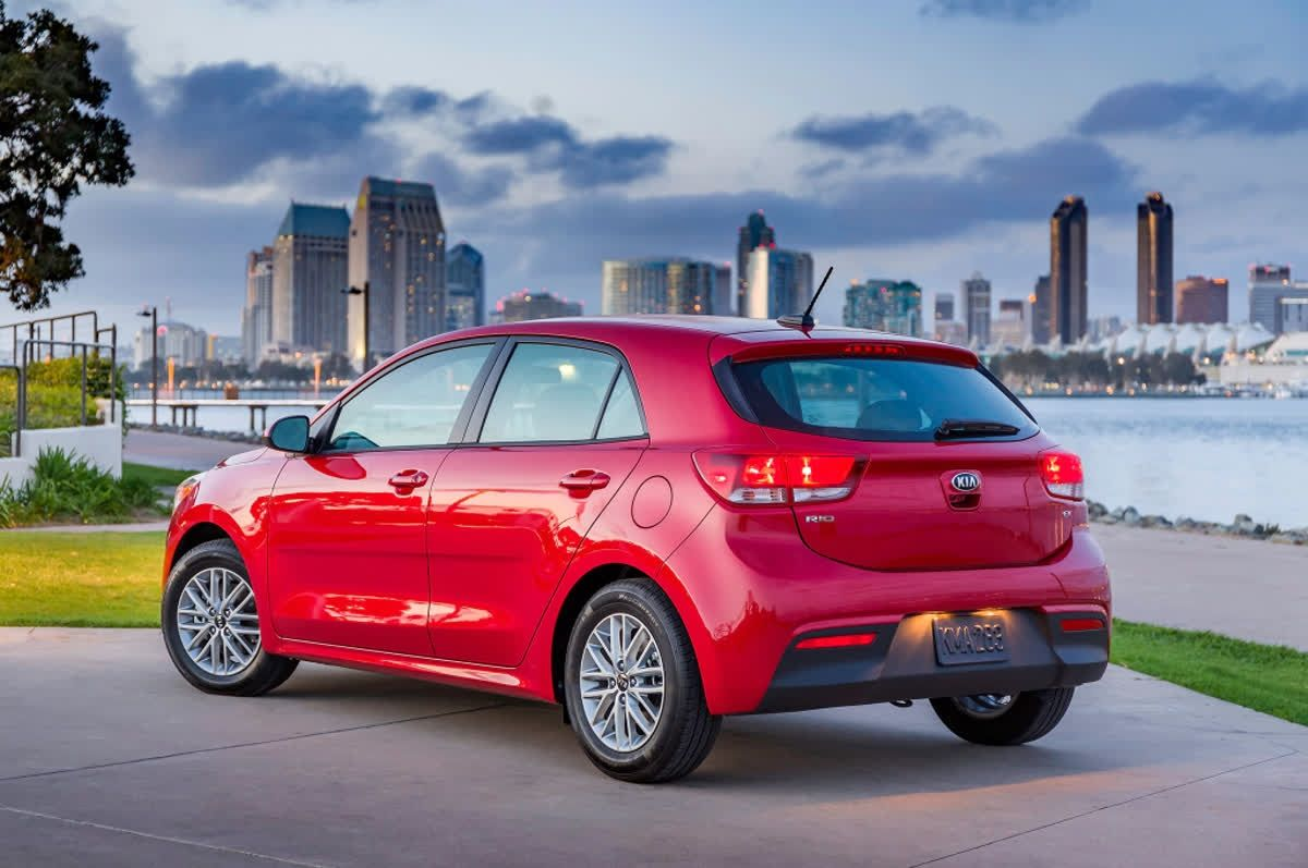The New 2018 Kia Rio Is Available As A Sedan Or A 5 Door