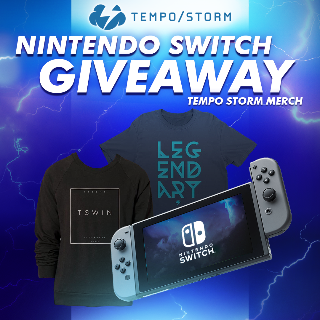 nintendo sweepstakes nintendo switch tempo storm merch giveaway happy 8113