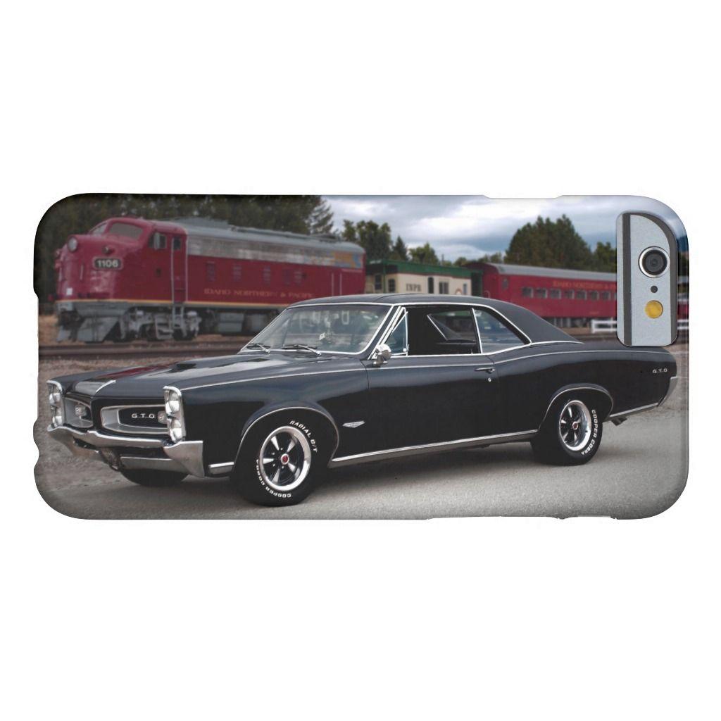 1966 Pontiac GTO Train Classic Muscle Car Case-Mate iPhone Case | Zazzle.com