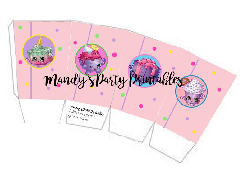 Charming Shopkins Popcorn Box Printable By Mandyu0027s Party Printables |  Mandyspartyprintables.com