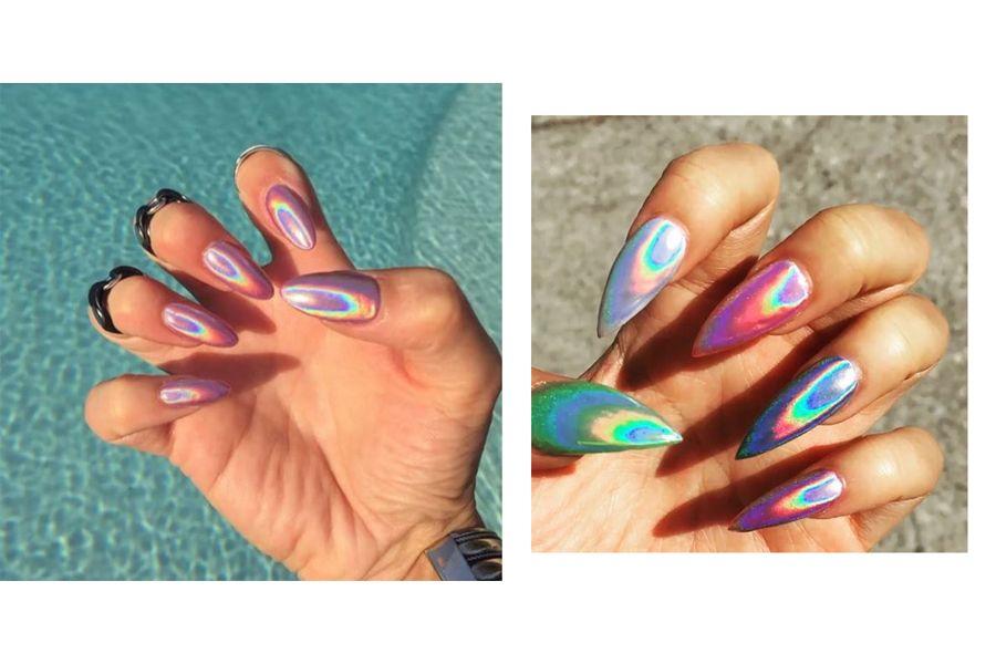 Holographic nails: a nova tendência de unhas | SAPO Lifestyle