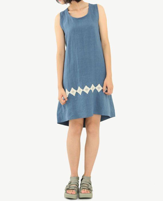 Linen Dress Womens Dresses Special Back Sundress by OurLittleDaisy
