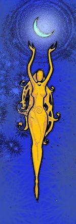 De leerkrachten, vampiers die de verandering voltooid hebben,dragen het symbool van Nux met haar armen geheven en in haar handen de maan vasthoudt.