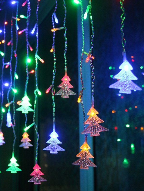 christmas tree pendant led string light indoor decoration supplies - Christmas Indoor Decorations Sale