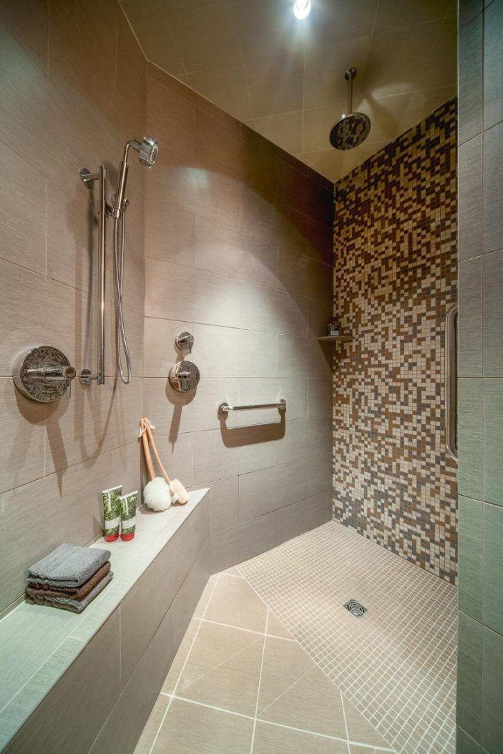 Walk In Shower Ideas without Doors 2021 | Doorless shower ...