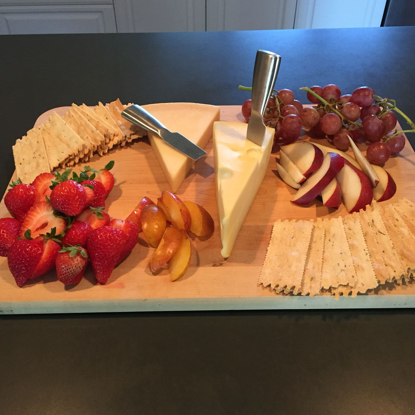 Idea by loretta gutierrez on cheese and meat boards food