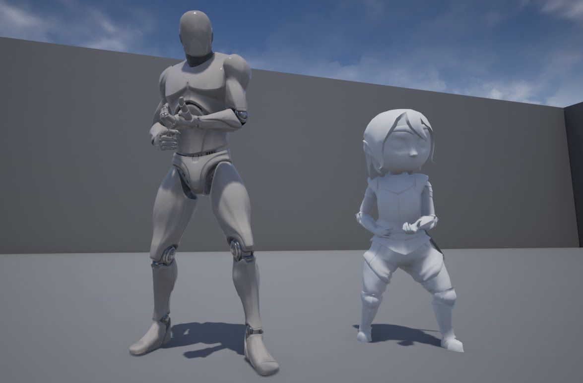 Animation Retargeting 2 – importing, sharing skeletons and animations, retargeting