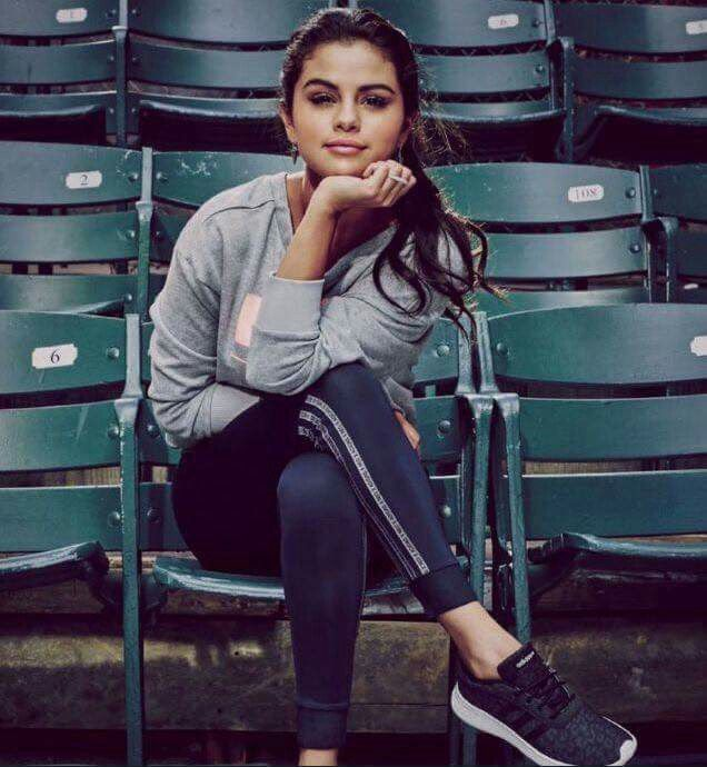 Selena Gomez's Adidas NEO Campaign – Footwear News