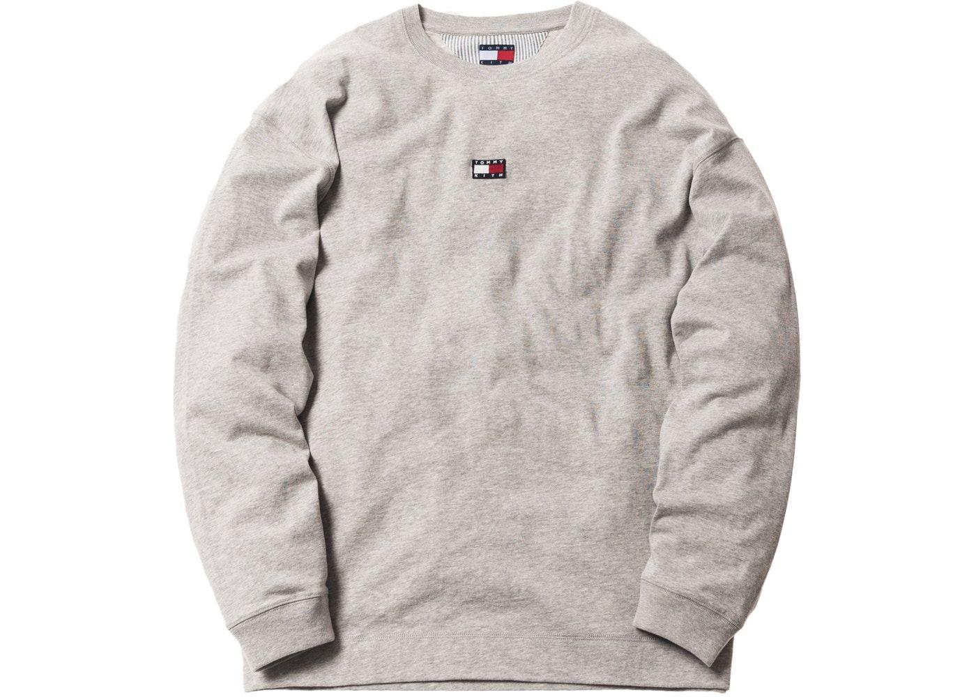 166fecfb Kith x Tommy Hilfiger Long Sleeve Tee Grey in 2019 | Streetwear ...