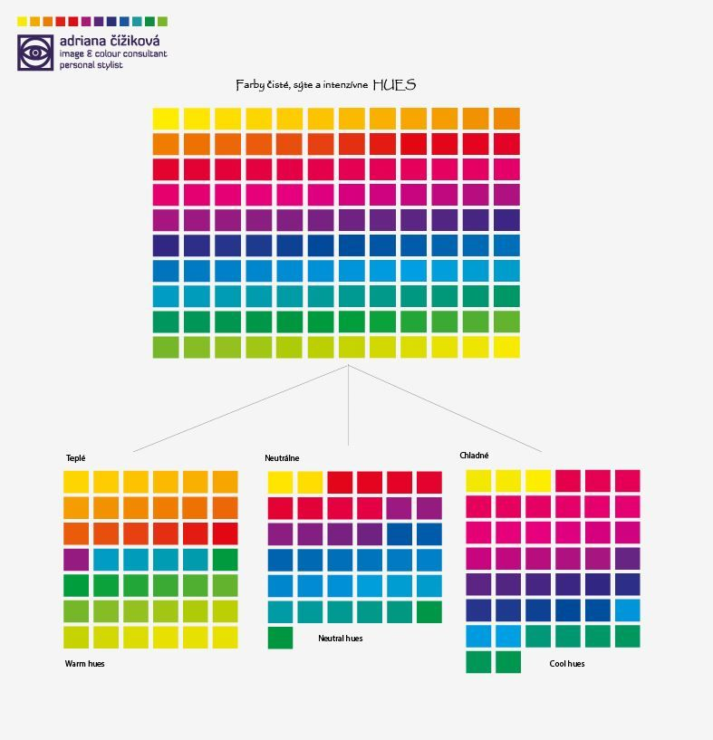 Now Your Help Is Here How To Recognize Warm From Cool Colours All