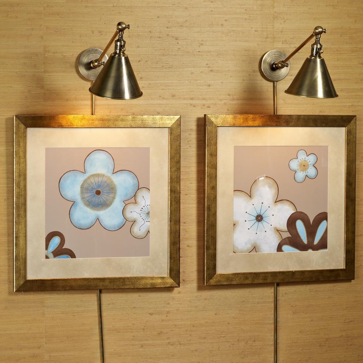 Cone Pivot Shade Wall Lamp Decor Ideas Painting Lamp