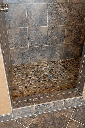Ok my tile is darker and i have the shower floor what for What color should i paint my bathroom