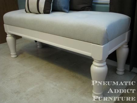 Tufted upholstered benches do it yourself home projects from ana tufted upholstered benches do it yourself home projects from ana white solutioingenieria Choice Image
