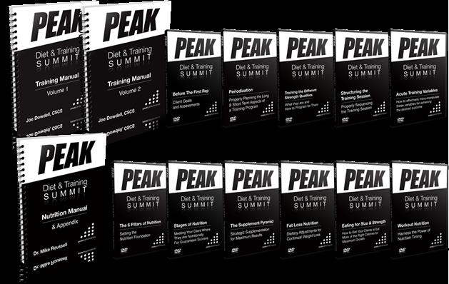PEAK Diet & Training Summit Home Study Course Summit