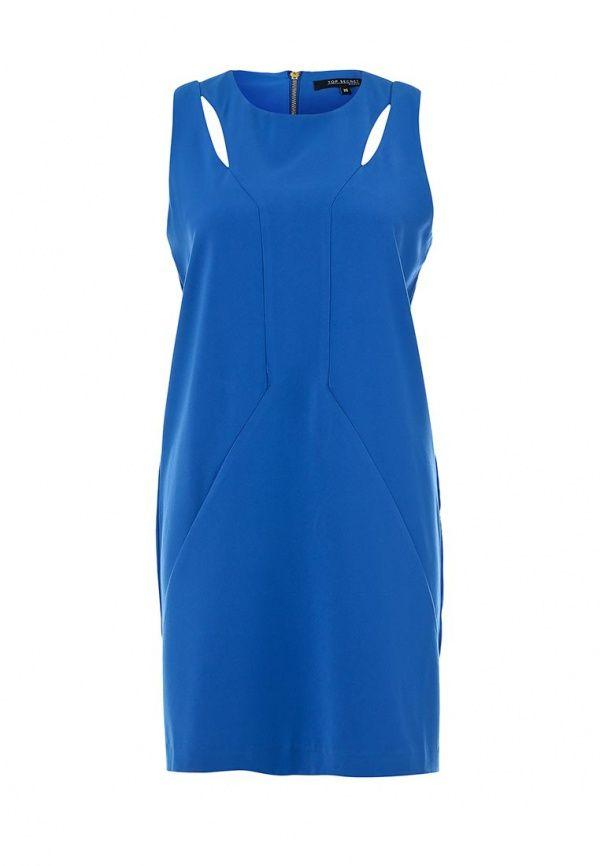 Платье Top Secret женское. Цвет: синий. Сезон: Весна-лето 2014. С бесплатной доставкой и примеркой на Lamoda. http://j.mp/1utL9PZ