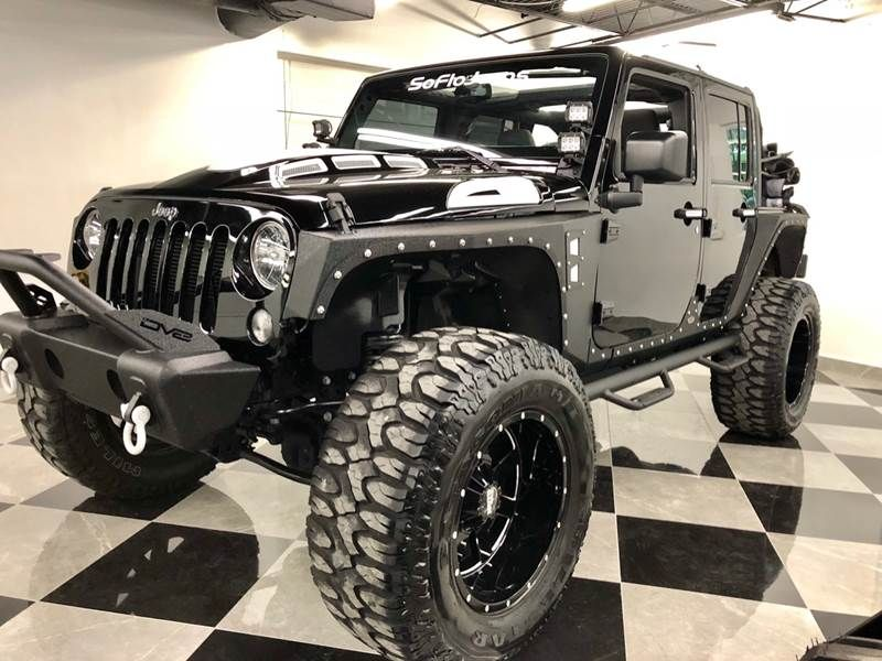 2018 Jeep Wrangler Unlimited Custom Recon Package For Sale By South Florida Jeeps 1424 W Broward In 2020 Jeep Custom Jeep Wrangler Custom Jeep Wrangler Unlimited