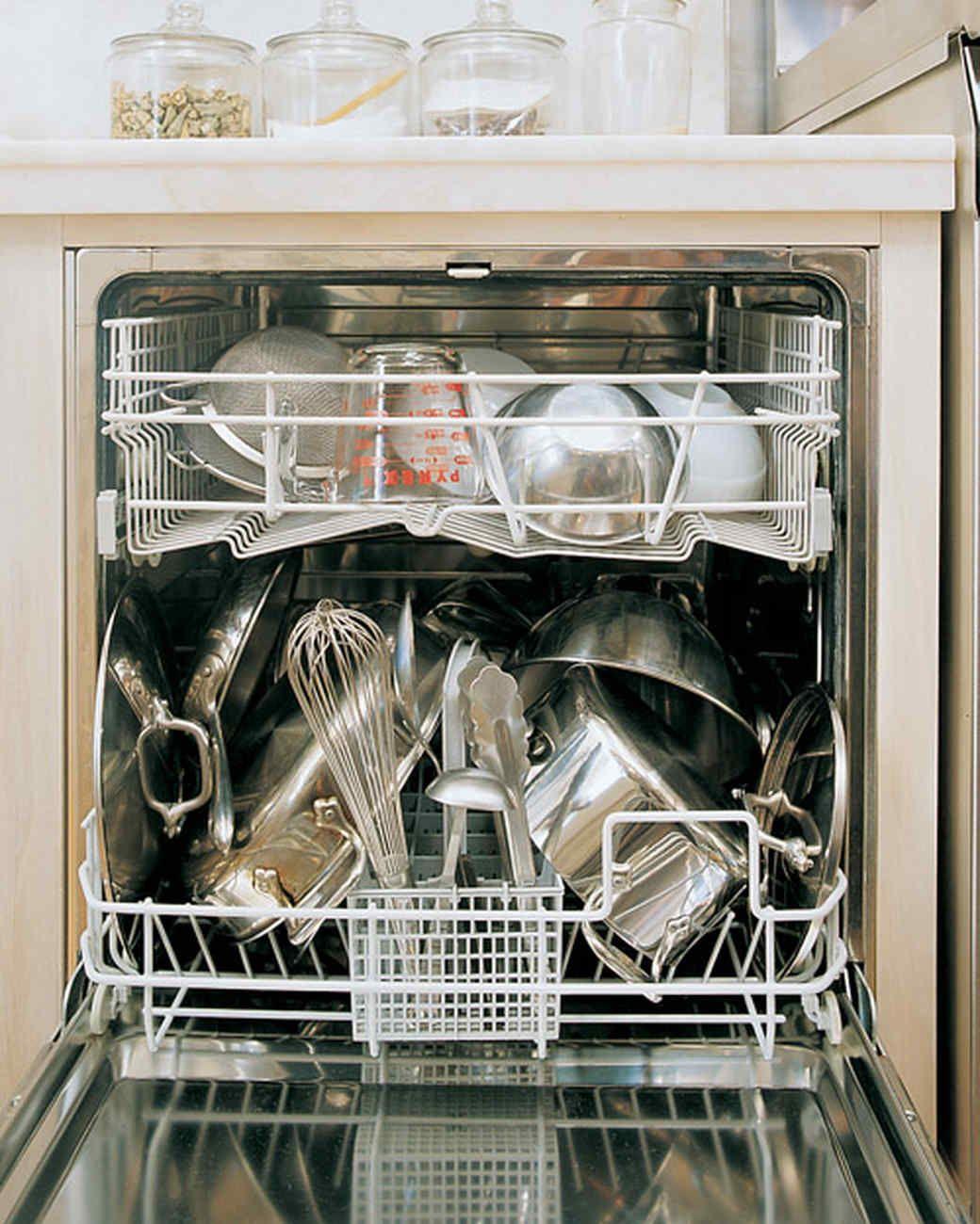 Dishwasher Ways To Deodorize Your Kitchen Martha Stewart Living
