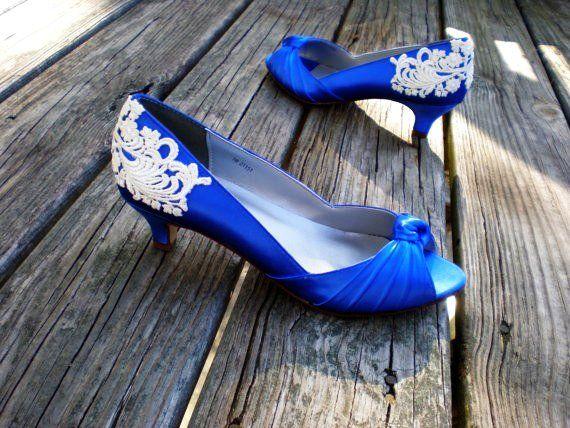 27 Blue Wedding Shoes For Bride